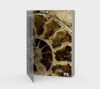 Aperçu de Ammonite Spiral Notebook 180128