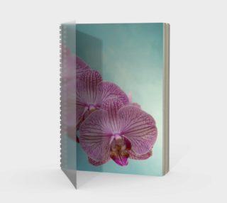 Purple Orchid Spiral Notebook aperçu