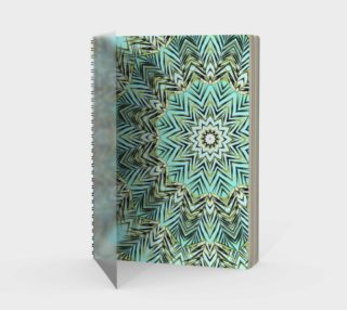 Palm Leaves - spiral notebook preview