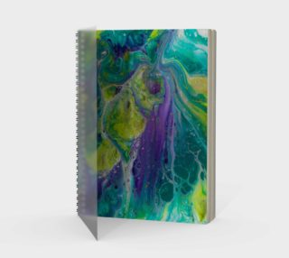 Terrific Teal Spiral Notebook preview