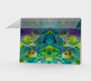 Terrific Teal Spiral Notebook 2 preview