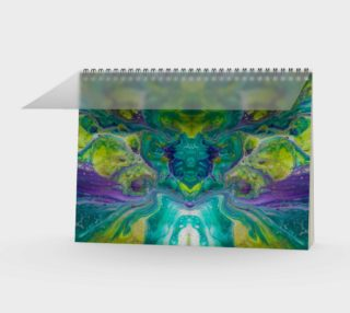 Terrific Teal Spiral Notebook 3 preview
