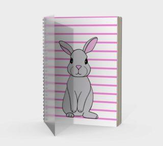 Rosie the Rabbit Spiral Notebook preview