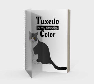 Aperçu de Tuxedo Cat Spiral Notebook 160426