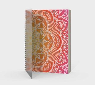 Trendy Gradient Mandala Design preview