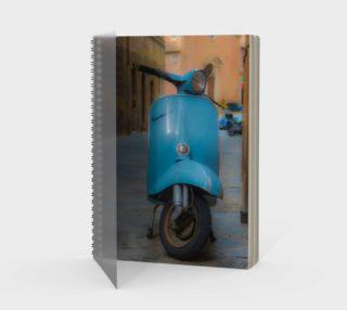 Utterly Italy Siena Vespa Notebook preview