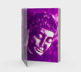Pink Purple Buddha Art Portrait preview