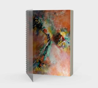 Space Spiral Notebook preview
