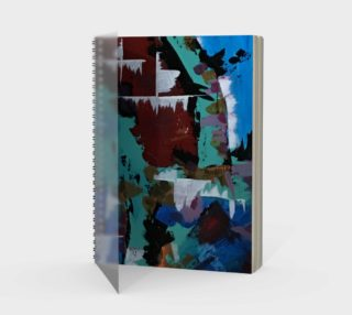 Snow Spiral Notebook preview