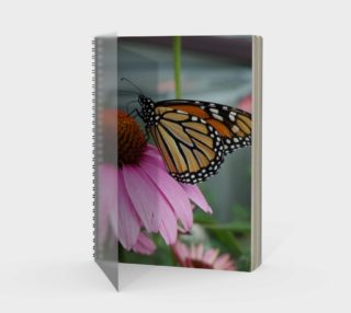 Monarch Butterfly Spiral Notebook preview