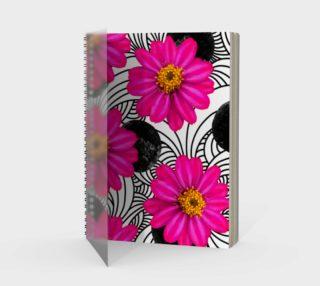 Hot Florals - Spiral Notebook preview