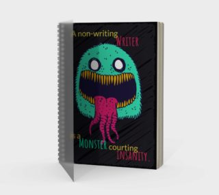 Kafka Quote Spiral Bound Notebook preview