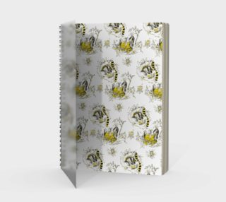 Hufflepuff Toile Notebook preview