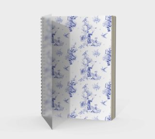 Ravenclaw Toile Notebook preview