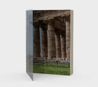 Utterly Italy Paestum Notebook preview