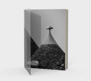 Utterly Italy Alberobello Notebook preview