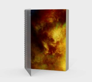 Nebula Storm ENH Spiral Notebook preview