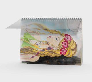 Bali Moon Goddess Notebook preview