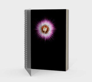 Starburst Z NTXT Spiral Notebook preview