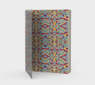 Multicolored Tribal Pattern Notebook preview