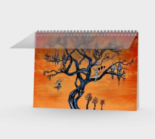 Aperçu de Carnival Tree Spiral Journal