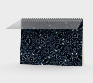 Luxury Modern Geometric Pattern Notebook preview
