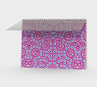 Geometric Intricate Pattern Notebook preview