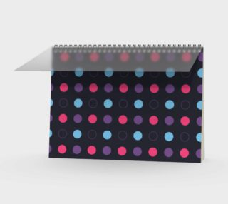 Disco Dots Spiral Notebook preview