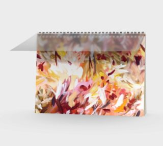 Pink floral Spiral notebook preview