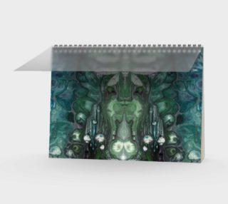 Meta Cicada Spiral Notebook preview
