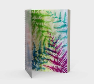 Aperçu de Peacock Fern Spiral Notebook 170322