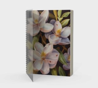 Magnolias-Spiral Notebook preview
