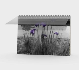 Irises Spiral Notebook preview