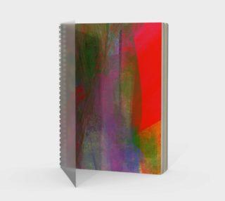 Aperçu de Folie abstraite carré-rouge