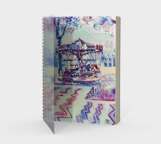 Luna Park Spiral Notebook (48-pgs./blank) preview