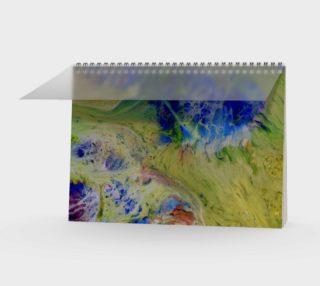 Aperçu de Blue to Yellow energy Note book