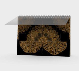 Golden Mandala Pattern preview