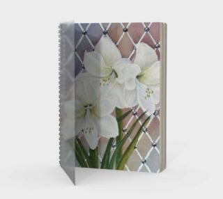Amaryllis Spiral Notebook  preview