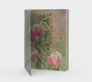 Pink Cactus Spiral Notebook preview