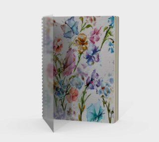 Whimsical Spiral Notebook preview