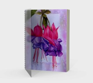 Fuchsia Spiral Notebook preview
