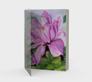 Aperçu de Tropical Orchid Spiral Notebook