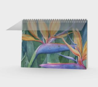 Bird of Paradise Spiral Notebook preview
