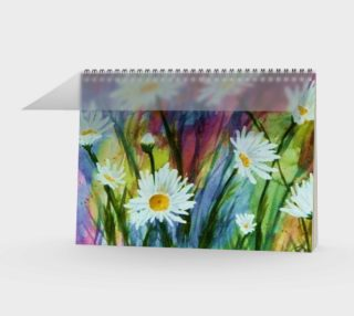 Field of Daisies Spiral Notebook preview