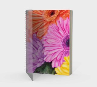Gerbera Spiral Notebook preview
