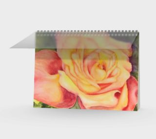 Yellow Rose Spiral Notebook preview