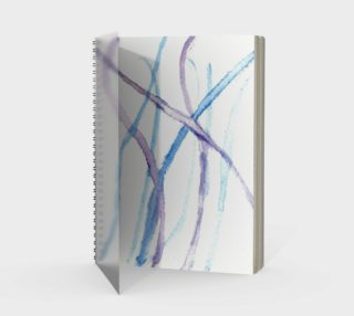 Lines Spiral Notebook preview