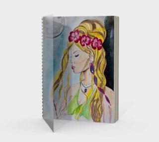 Bali Goddess Notebook - Better Sig preview