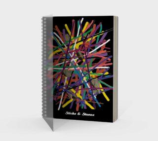 Sticks & Stones - Notebook preview