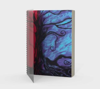 Mystic Night Spiral Notebook preview